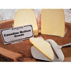 Fresh Cut Canadian Medium Gouda (lactose free) (per 1/2 lb.)