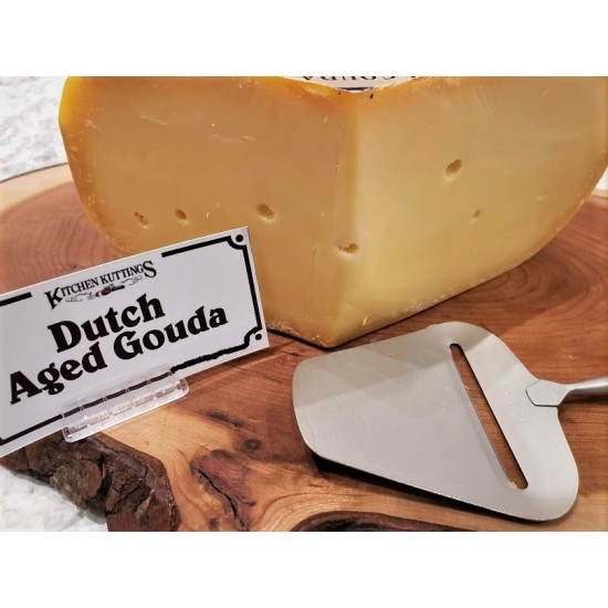 Fresh Cut Aged Dutch Gouda (per 1/2 lb.)