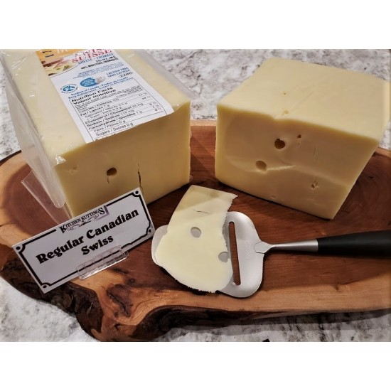 Fresh Cut Canadian Swiss Cheese