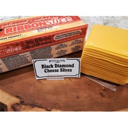 Ribbon Cheese Slices