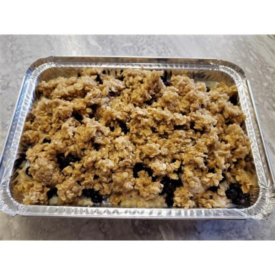 Homemade Blueberry Crunch French Toast Bake