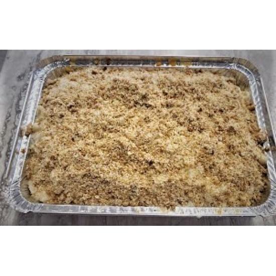 Homemade 3 Cheese Baked Macaroni
