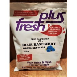Blue Raspberry Drink Crystals
