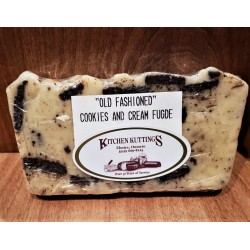 """Old Fashioned"" Cookies N' Cream Fudge"