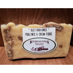 """Old Fashioned"" Pralines N' Cream Fudge"