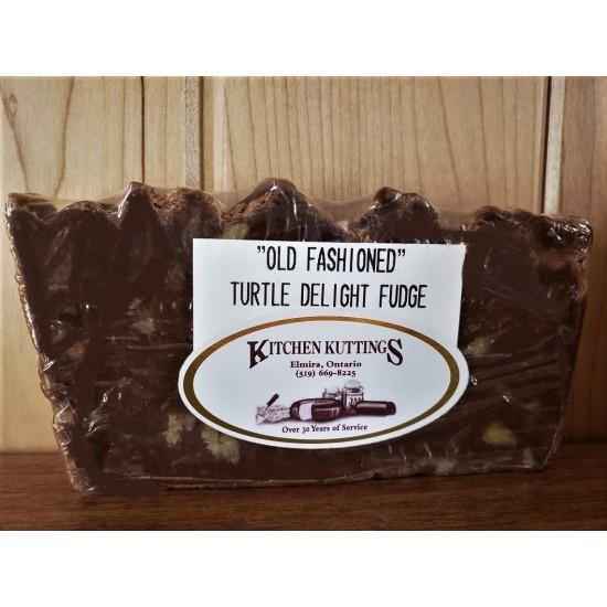 """""""Old Fashioned"""" Turtle Delight Fudge"""