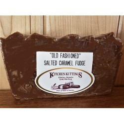 """Old Fashioned"" Salted Caramel Fudge"