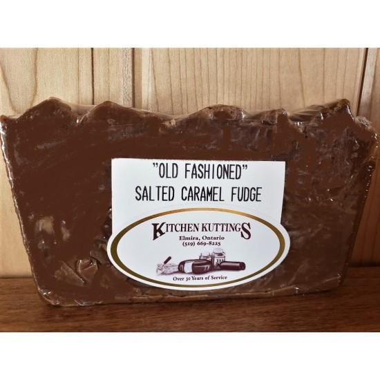 """Old Fashioned"" Salted Caramel Fudge"