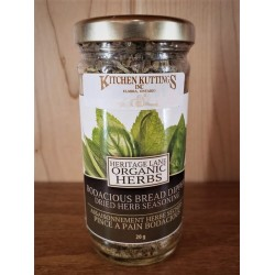 Organic Bodacious Bread Dipper Dried Herb Seasoning