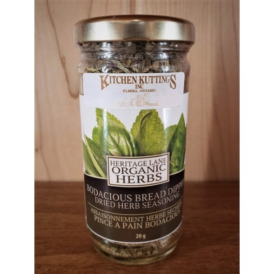Organic Bodacious Bread Dipper Dried Herb Seasoning
