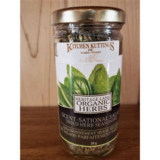 Organic Scent-Sational Salad Dried Herb Seasoning
