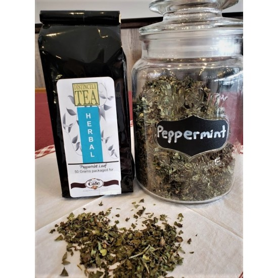 Peppermint Loose Leaf Tea     No Caffeine