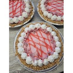 Strawberries N' Cream Ice Cream Pie