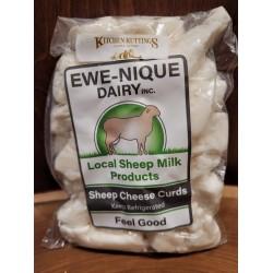 Sheep's Milk Plain White Cheese Curd 230 g.