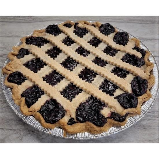 Homemade Elderberry Pie