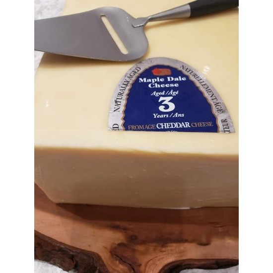 Fresh Cut 3 Year Old White Cheddar