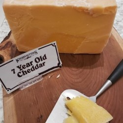 Fresh Cut 7 Year Old Cheddar