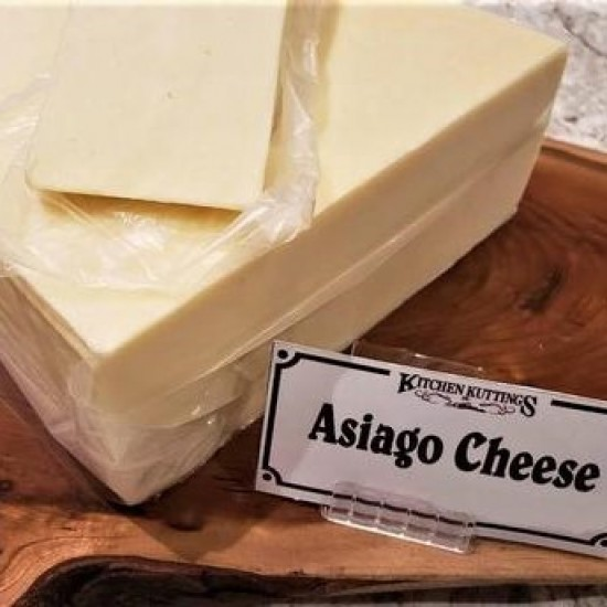 Fresh Cut Asiago Cheese