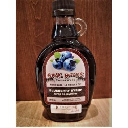 Local Homemade Blueberry Fruit Syrup