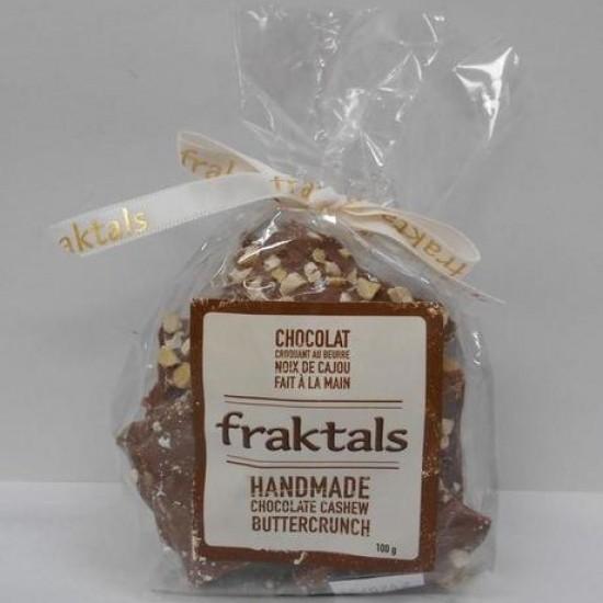 Fraktals Milk Chocolate Cashew Buttercrunch