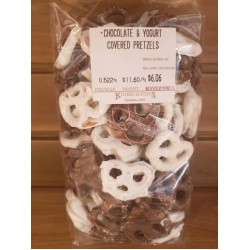 Chocolate and Yogurt Covered Pretzels