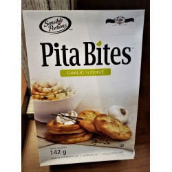 Garlic and Chives Pita Bites