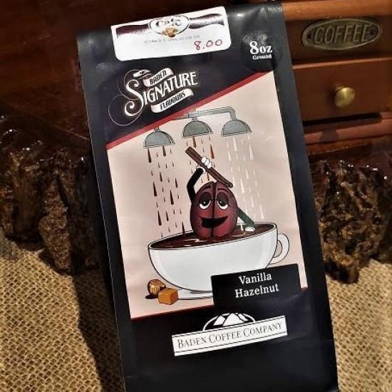 Locally Roasted Vanilla Hazelnut Baden Coffee