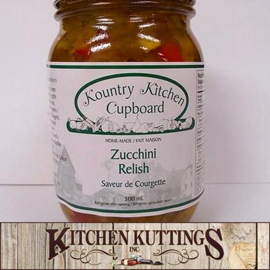 Local Homemade Zucchini Relish