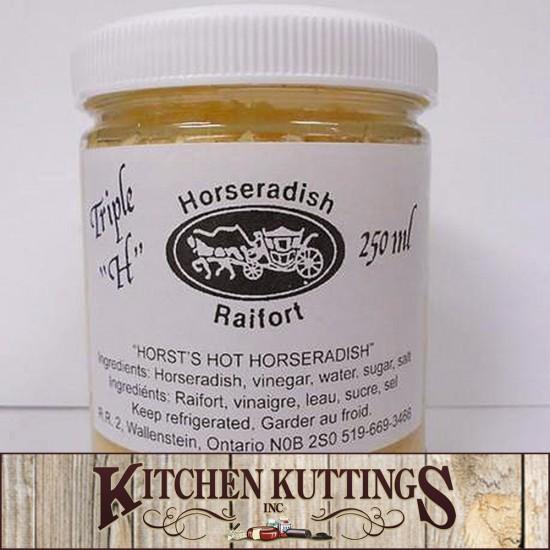 Locally made Kellsons Horseradish Mustard