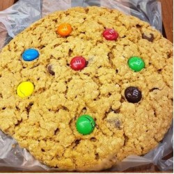 Homemade Jumbo Monster Cookie