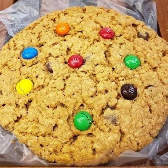 Homemade Jumbo Monster Cookie