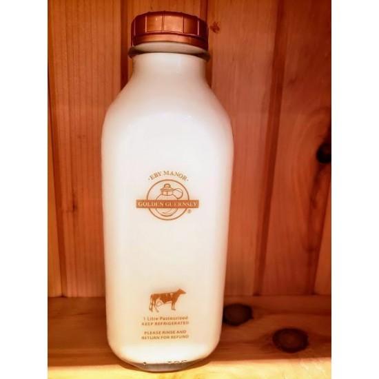Local Eby Manor Golden Guernsey 2% Milk