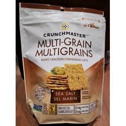 Multi Grain Sea Salt Baked Crackers