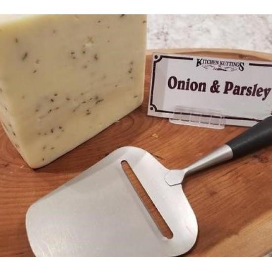 Fresh Cut Onion and Parsley Cheese