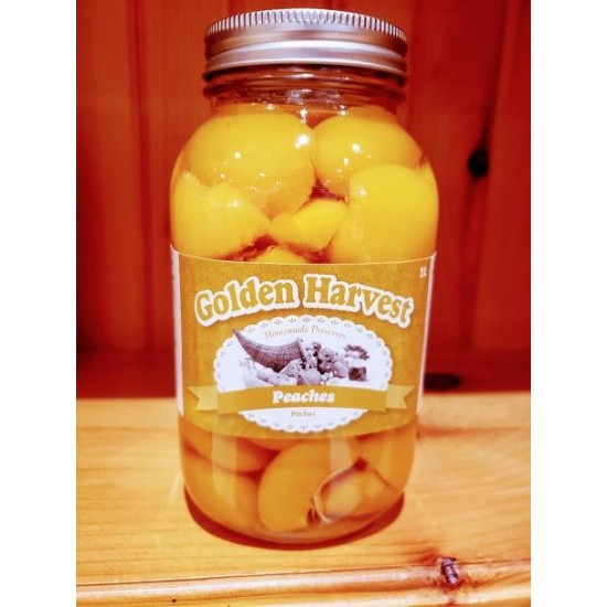 Local Homemade Canned Peaches