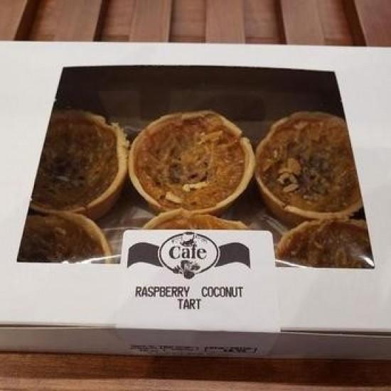 Homemade Raspberry Coconut Tarts
