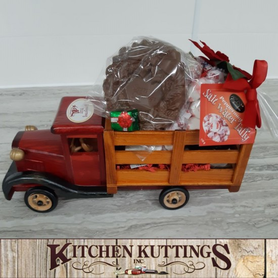 Toy Truck - Gift Basket