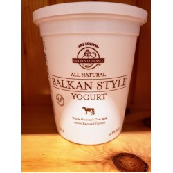 Local Golden Guernsey Balkan Style Yogurt