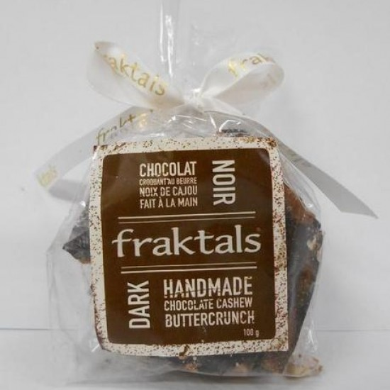Fraktals Dark Chocolate Cashew Buttercrunch