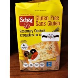 Gluten Free Rosemary Crackers
