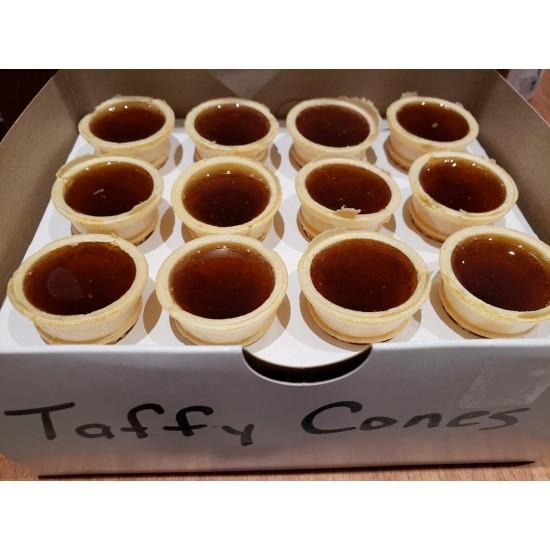 Homemade Taffy Cones