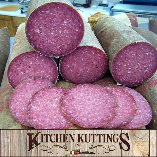 Homemade Beef & Pork Summer Sausage